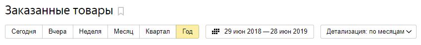 Настройка детализации отчета в Яндекс.Метрике