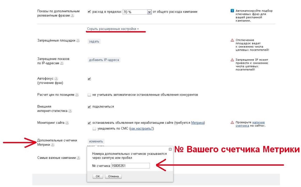 Как связать Яндекс.Метрику и Яндекс.Директ