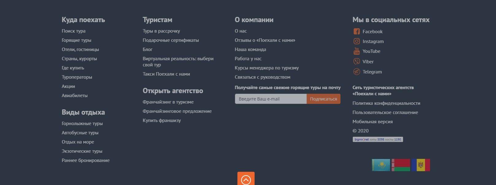 Перелинковка на примере www.poehalisnami.ua
