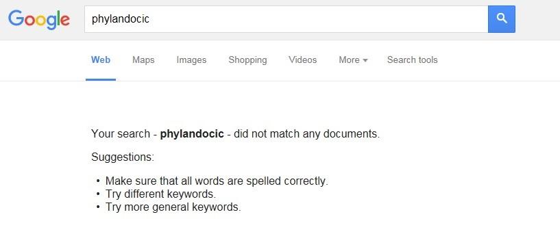 Гугл ничего не нашел по запросу «Phylandocic»